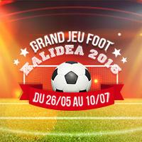 jeu concours foot Kalidea CE comités d'entreprise