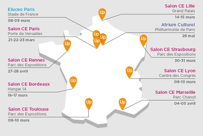 Salons des ce 1er semestre 2017 kalidea ce for Salon des ce